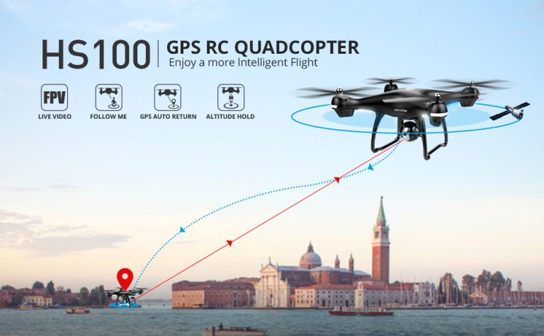 Holy Stone HS100 RC Drone Features
