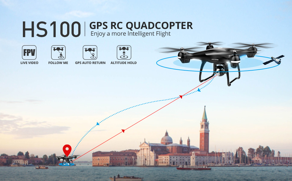 #1 Drone Under $200: Holy Stone HS100 Drone