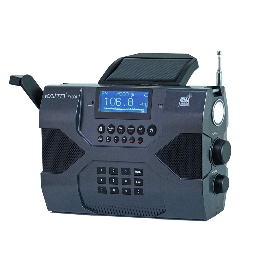 Kaito Voyager Max KA900 Emergency Weather Radio