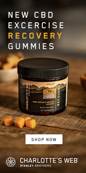 Charlotte's Web CBD Excercise Recovery Gummies Shop Now