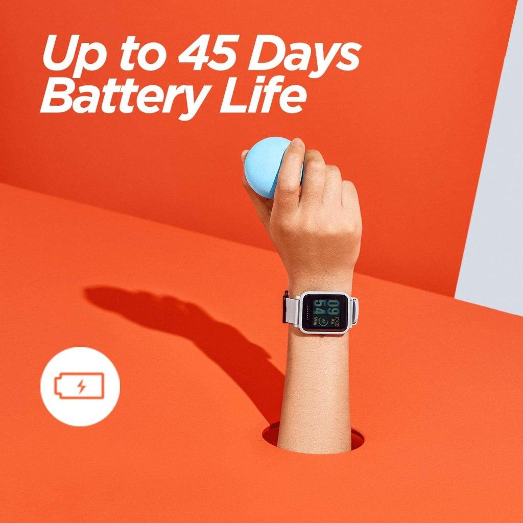 Amazfit-Bip-45-Day-Battery-Life