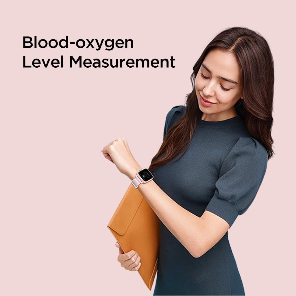 Amazfit Bip U - Blood Ox Tracking