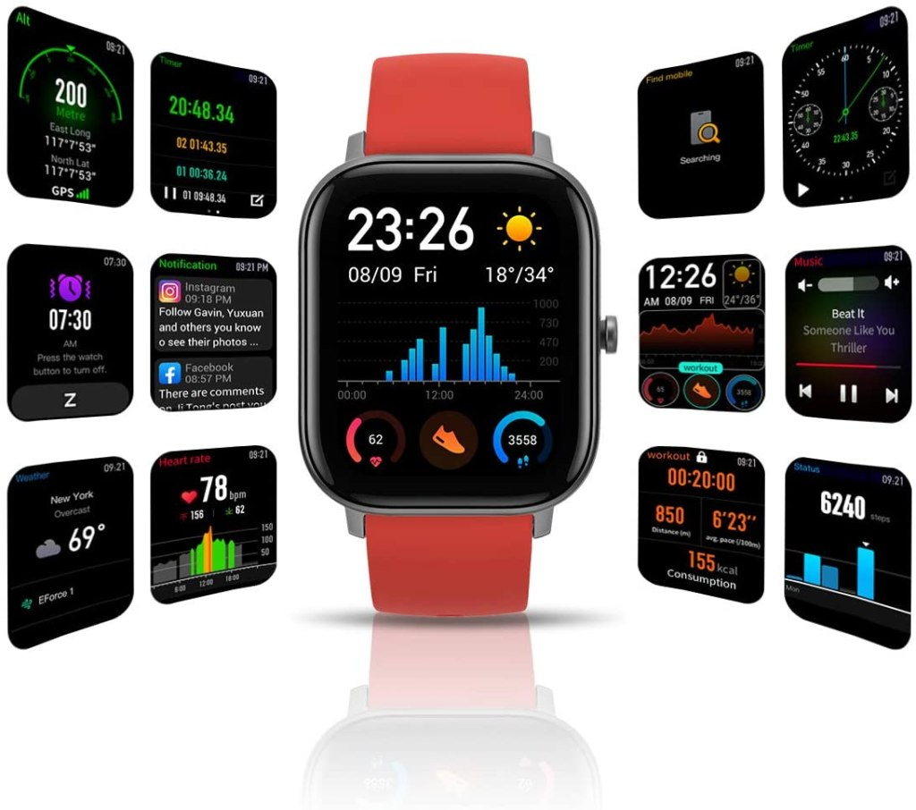 Amazfit GTS Smartwatch - Orange