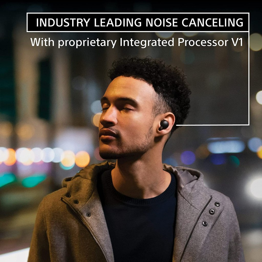Sony WF-1000XM4 - Industry Leading Noise Cancelling