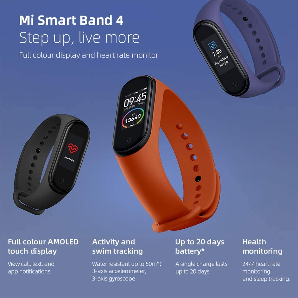 Xiaomi Mi Band 4 Notable Features