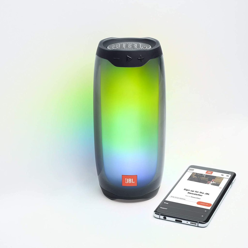 JBL Pulse 4 Portable Bluetooth Speaker and Connect App