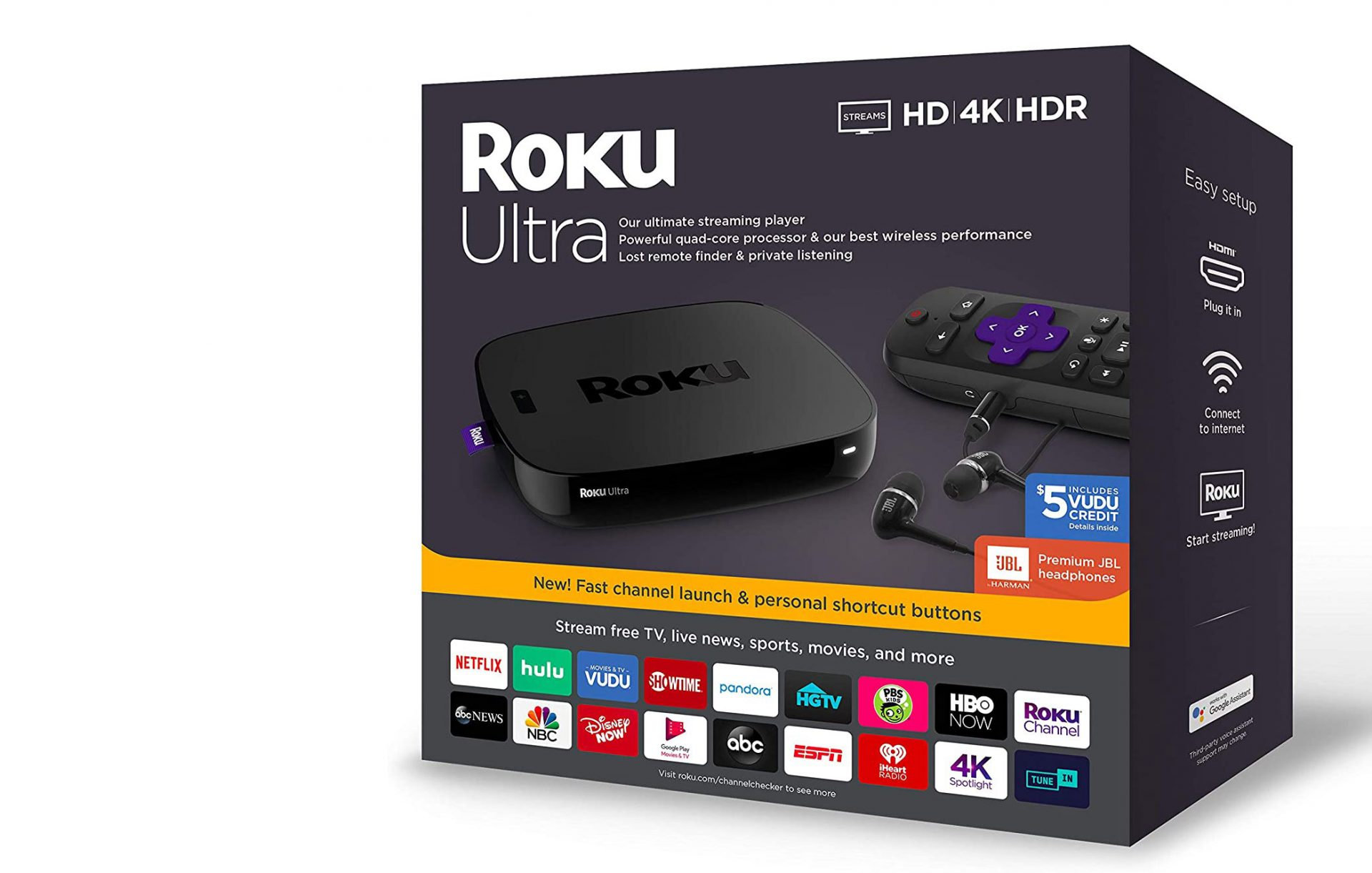 Roku Ultra - Streaming Media Player
