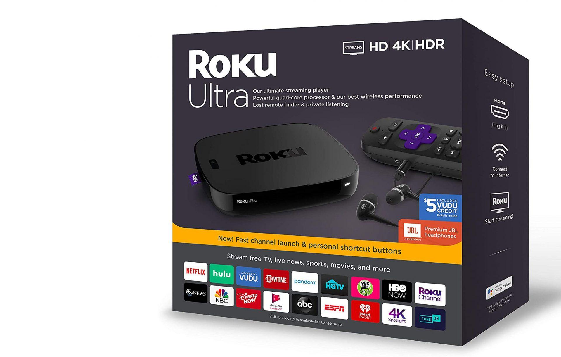 Roku Ultra | #1 Streaming Media Player