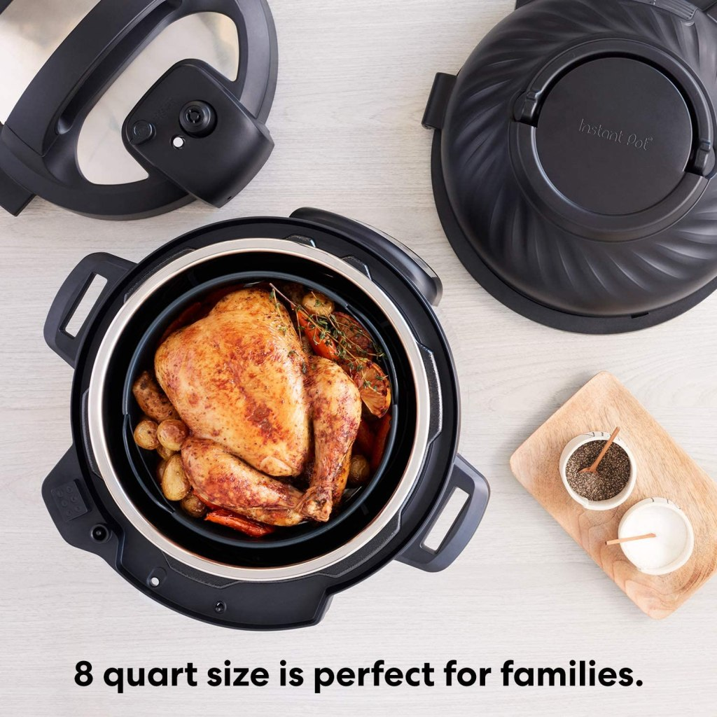 Instant Pot Duo Crisp + Air Fryer - One-Pot Meals