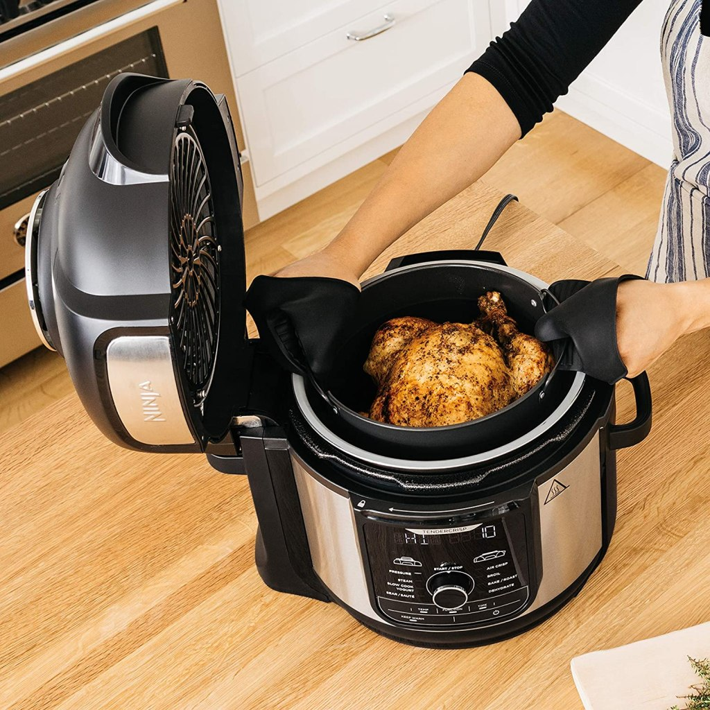 Ninja Foodi Deluxe XL 8 qt. Pressure Cooker and Air Fryer