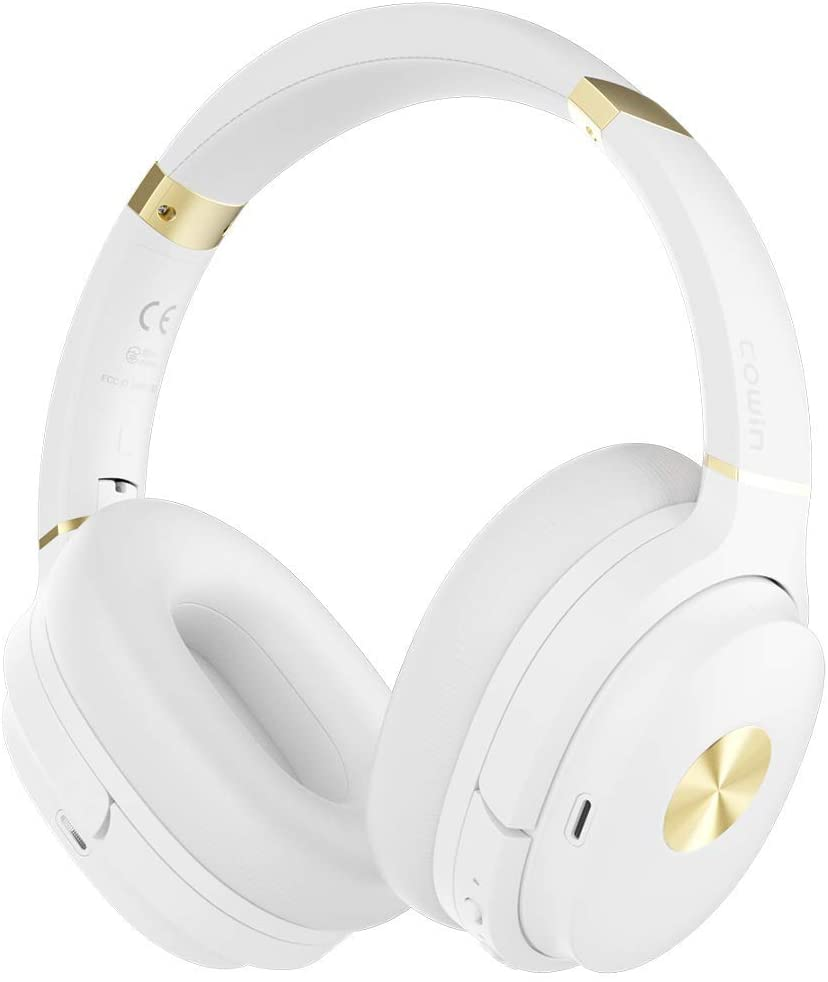 Cowin SE7 Noise-Canceling Headphones - White