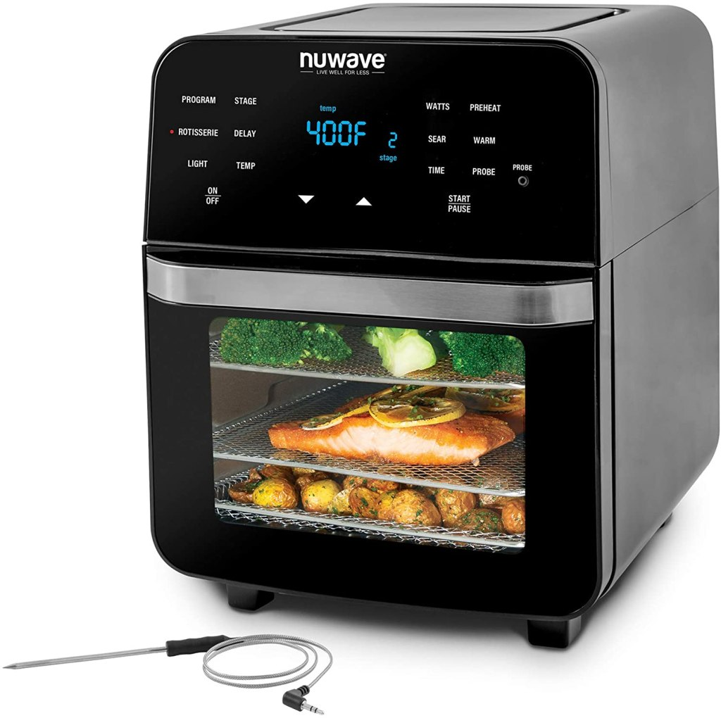 NUWAVE Brio 14 qt. Toaster Oven Baking