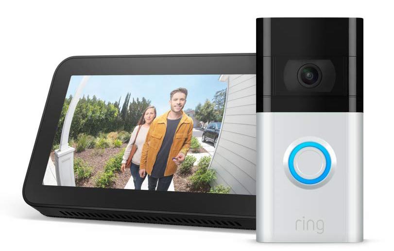 Ring Video Doorbell 3 and Echo Show 5 Bundle