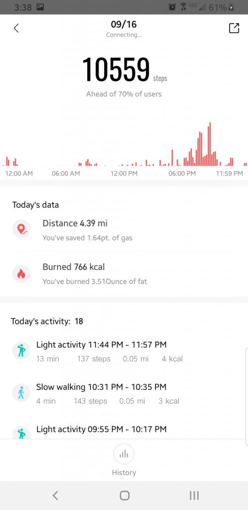 Zepp App Retains All Amazfit Data