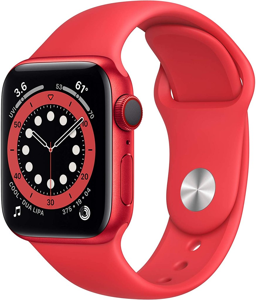 Apple Watch Series 6 GPS+Cellular - Red