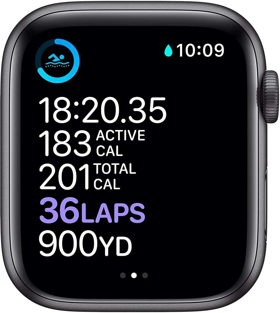 Apple Watch Series 6 Smartwatch - Black GPS + Cellular 44mm