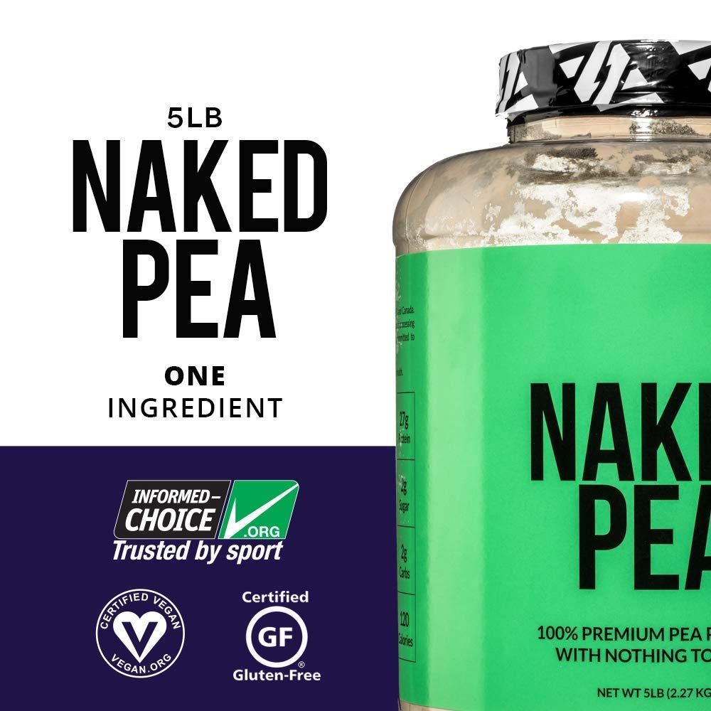 Naked Pea Protein Powder - Vegan & Gluten-Free