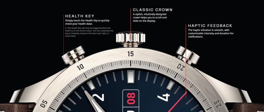 Zepp Z Smartwatch 3-Button Functions