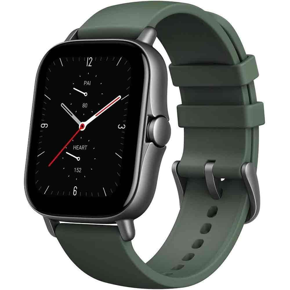 Best Budget Smartwatch Amazfit GTS 2e - Moss Green 2