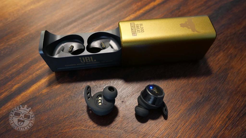 UA True Wireless Project Rock Earbuds