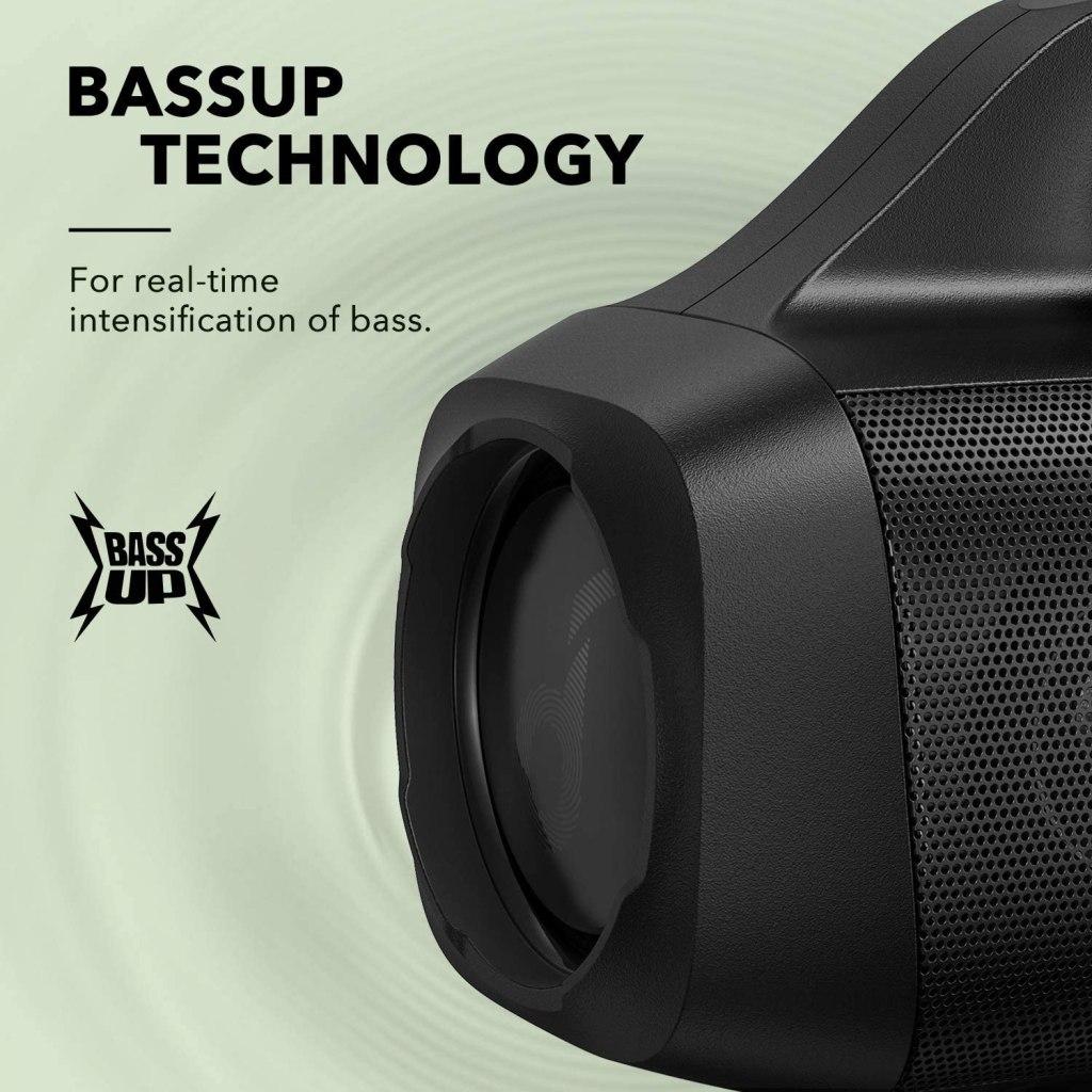Anker Soundcore Motion Boom - Best Bluetooth Speaker Under $100 Dual Passive Radiators