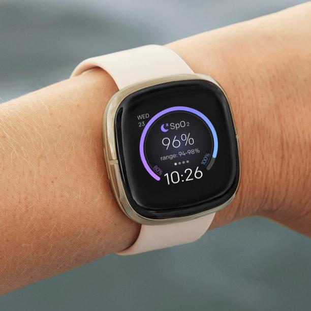 Fitbit Sense Fitness Smartwatch for Women - Blood-Oxygen Tracking (SpO2)