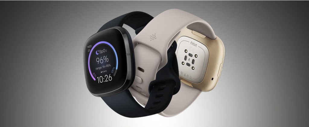 Fitbit Sense - Carbon and Gold