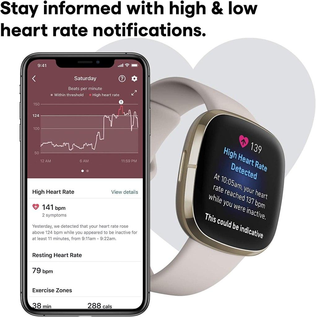 Fitbit Sense - Heart Rate Detection
