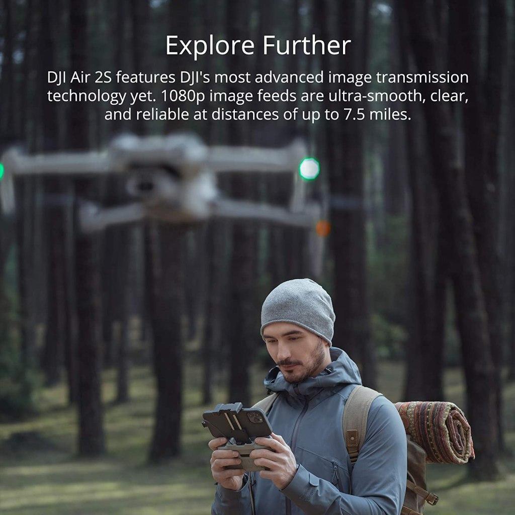 DJI Air 2S 1080p Image Feed
