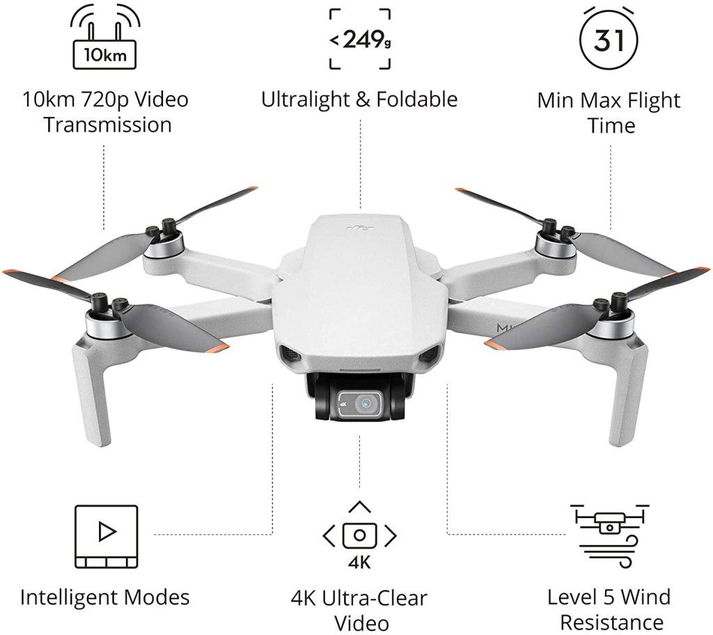 DJI Mini 2 Key Specs - Best Drone For Beginners