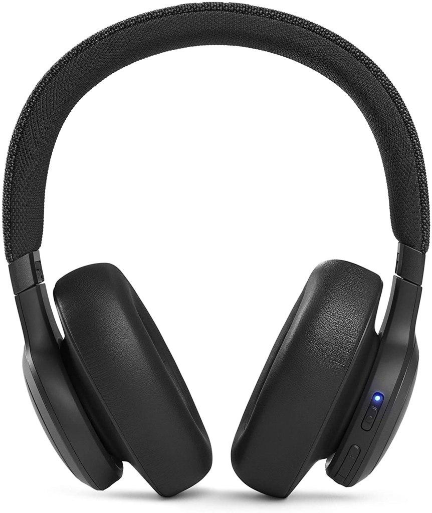 JBL Live 660NC Wireless Noise Cancelling Headphones Rear Profile