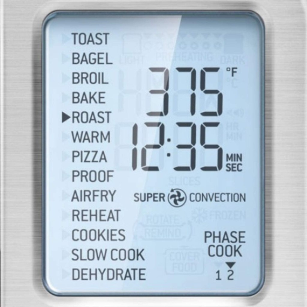 Breville Smart Oven Air Fryer Pro - Big and Bright LCD Display