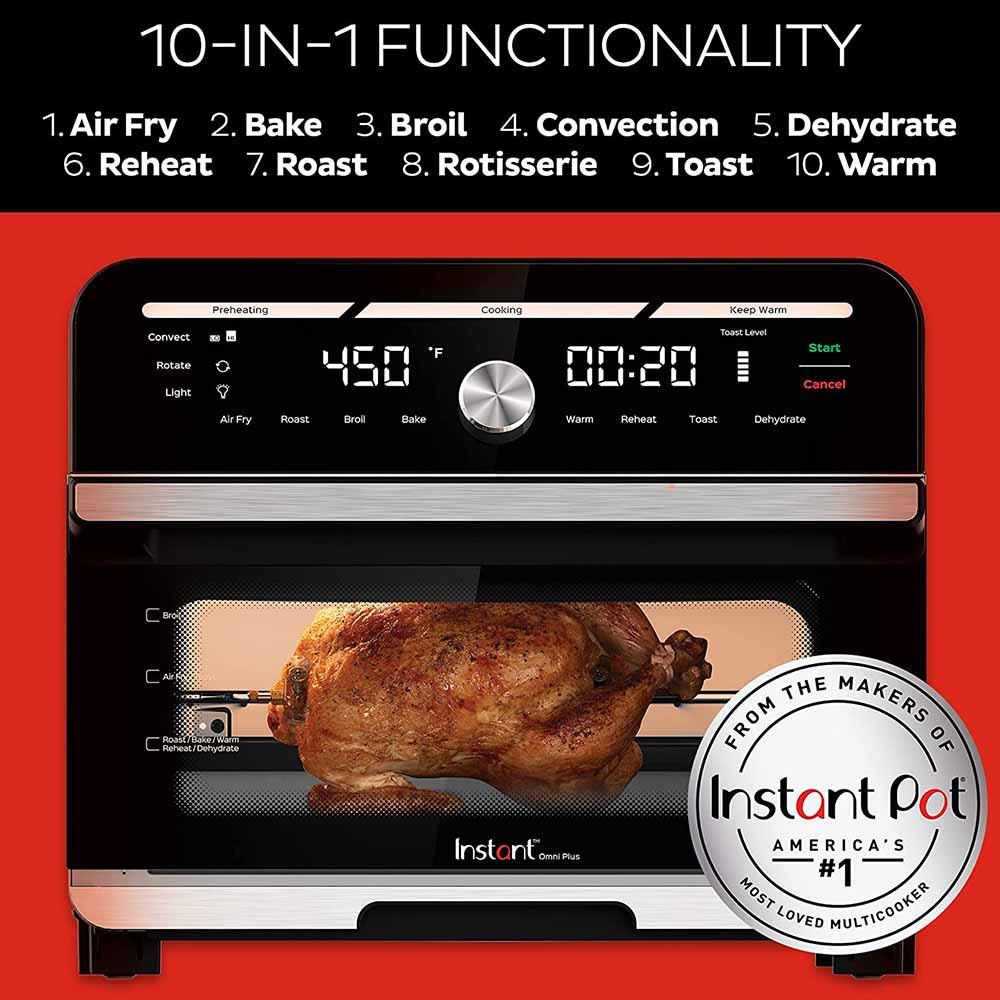 Instant Omni Plus 10-In-1 Countertop Oven