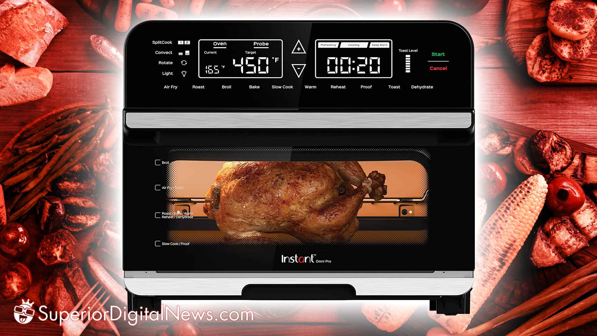 Instant Omni Pro 14-In-1 Convection Oven and Air Fryer