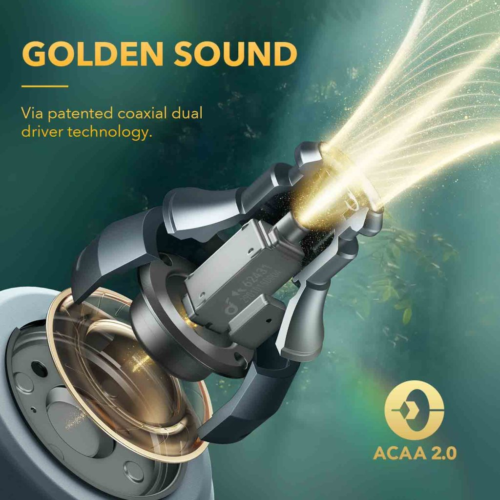 Anker Soundcore Liberty 3 Pro -10.6mm Dynamic Drivers