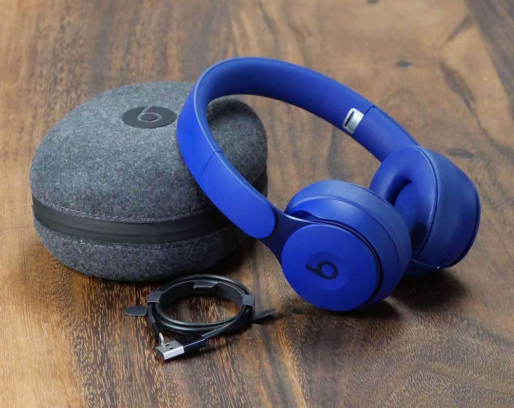 Beats Solo Pro Bluetooth Wireless Headphones - Dark Blue