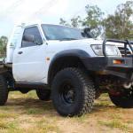 Nissan Patrol Gu Ute White 66964 Superior Customer Vehicles