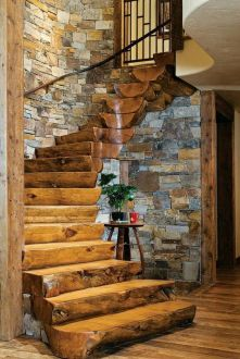 log-stairs