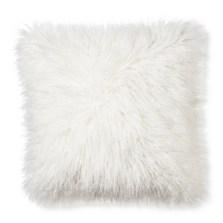 fur pillow