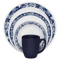 new blue dishes