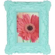 girl blue frame