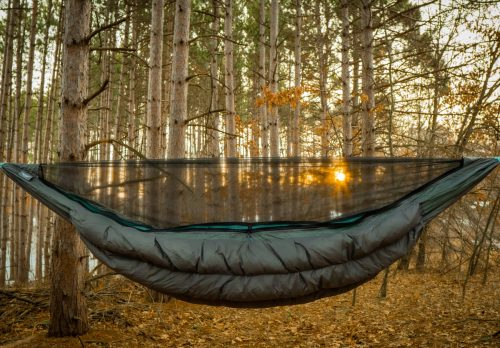 Superior Hammock with Zipper Bugnet