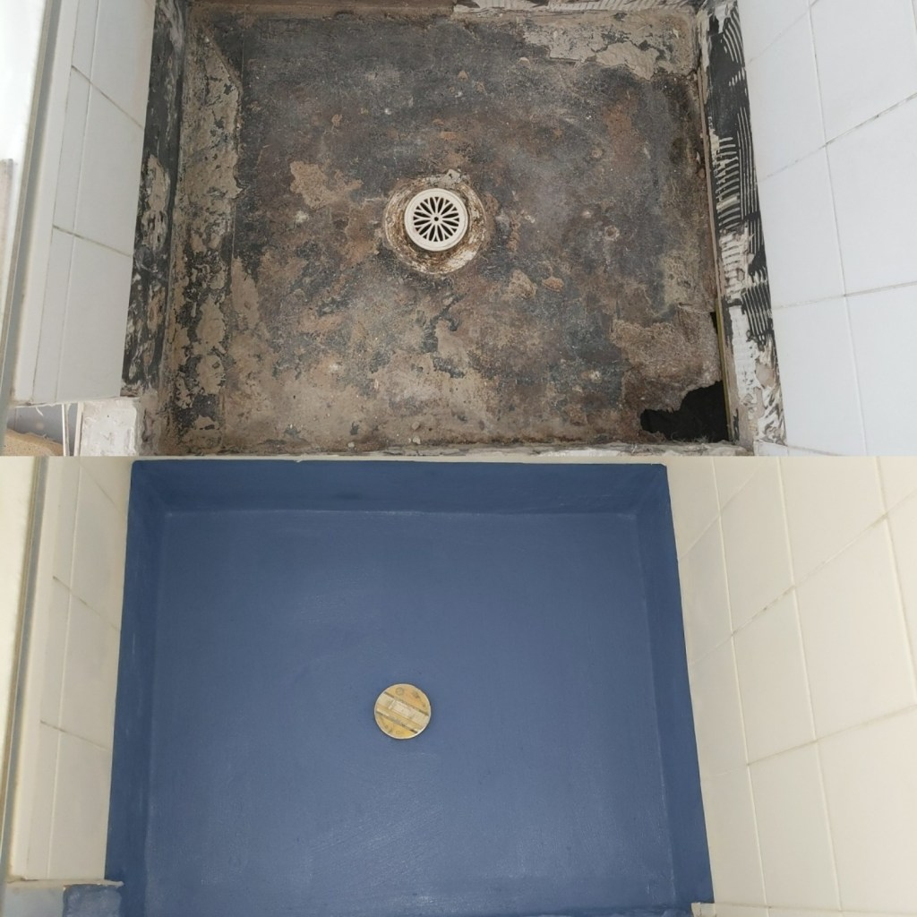 Shower Waterproofing Repair