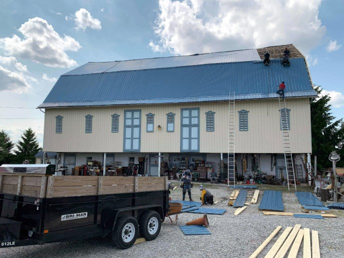 Metal Roofing Replacement Service in Abbottstown PA 17301 by Superior Services of PA & MD