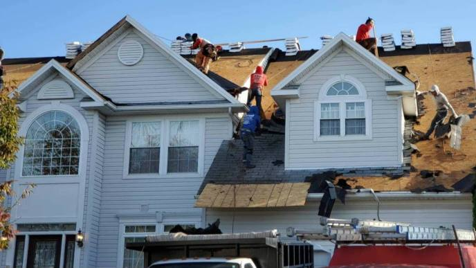 Roofing Contractor in Hampstead MD Superior Services of PA & MD roof replacement and roof repair work