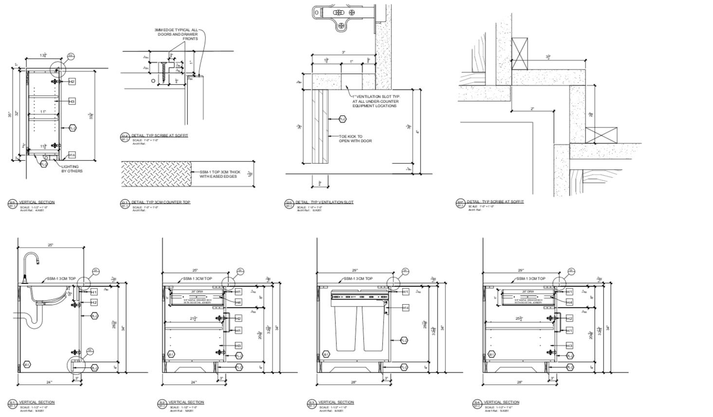 Millwork Shop Drawings - Header Image
