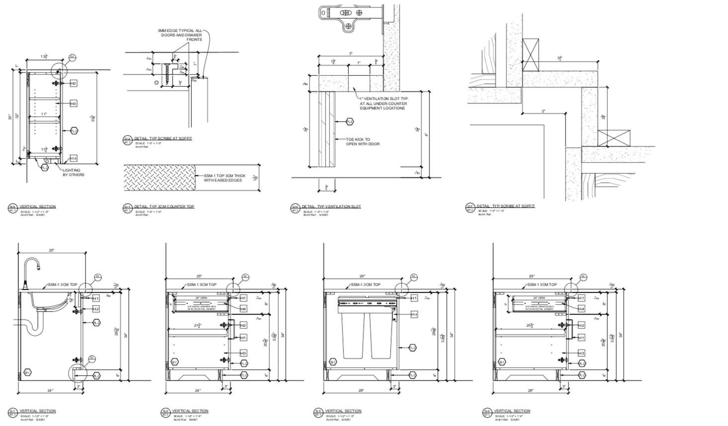Millwork Shop Drawings - Header Image