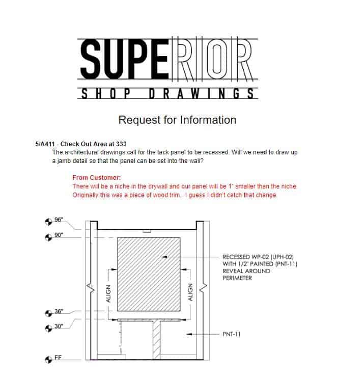 SSD RFI Example