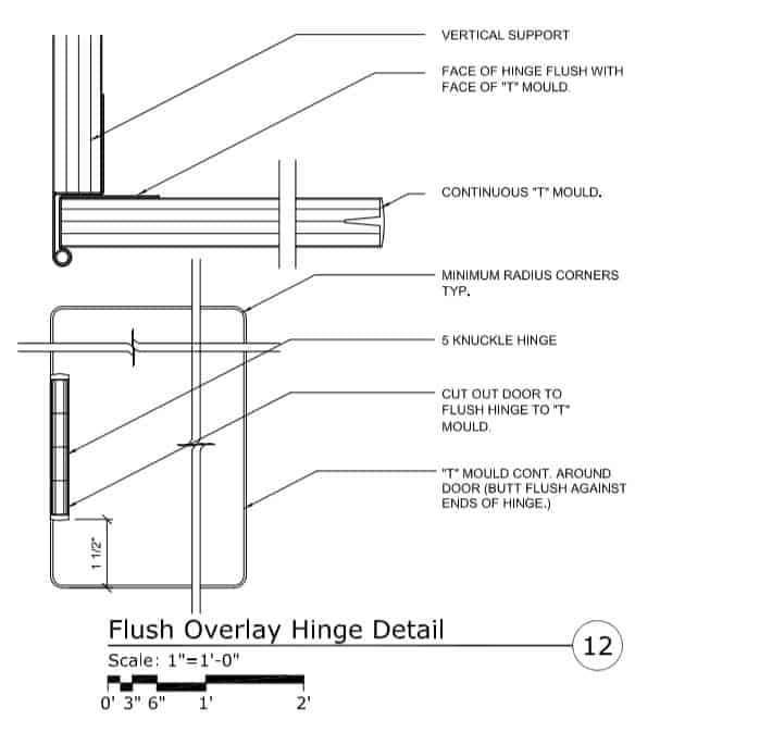 Read Architectural Drawings - Detail View