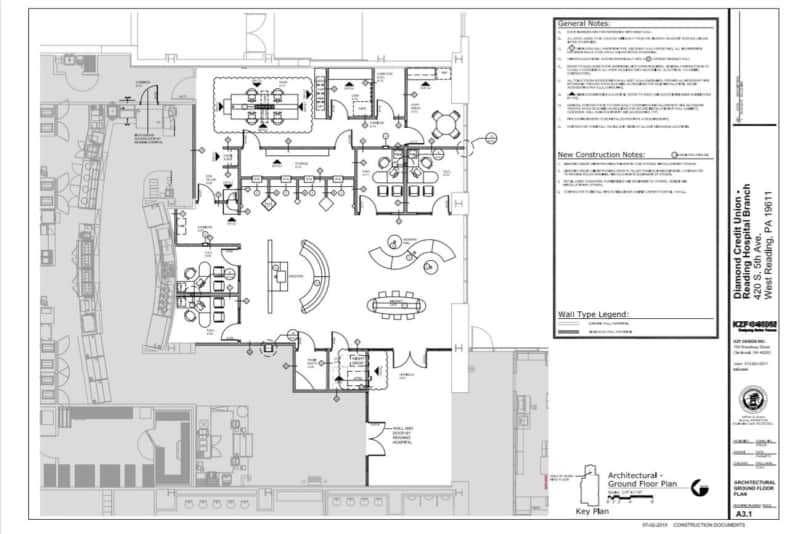 Read Architectural Drawings - Plan View